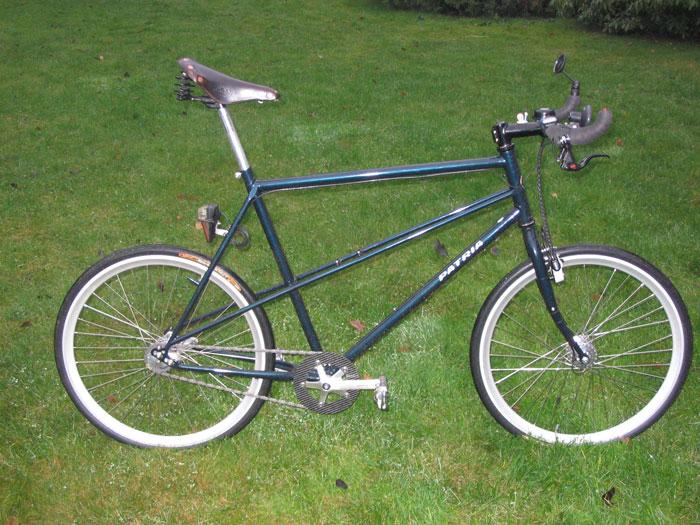 Maßgefertigtes PATRIA-Fahrrad