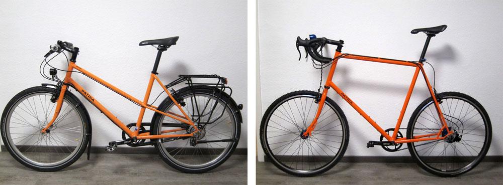 Ergonomie Fahrradtyp Patria