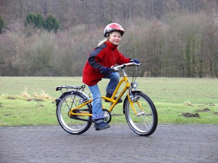 """""""Skippy"""", das mitwachsende Kinderrad"""