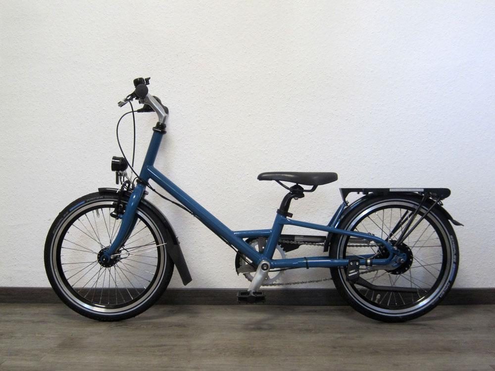 """Spezialrad für Kleinwüchsige 18"""", azurblau"""
