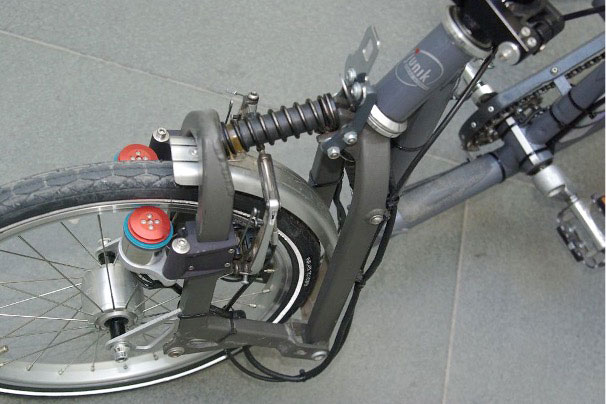 Velospeeder®-Motoren am Kolibri