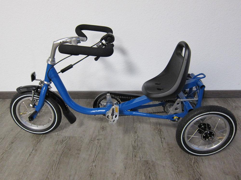 Dreirad für Kleinwüchsigen