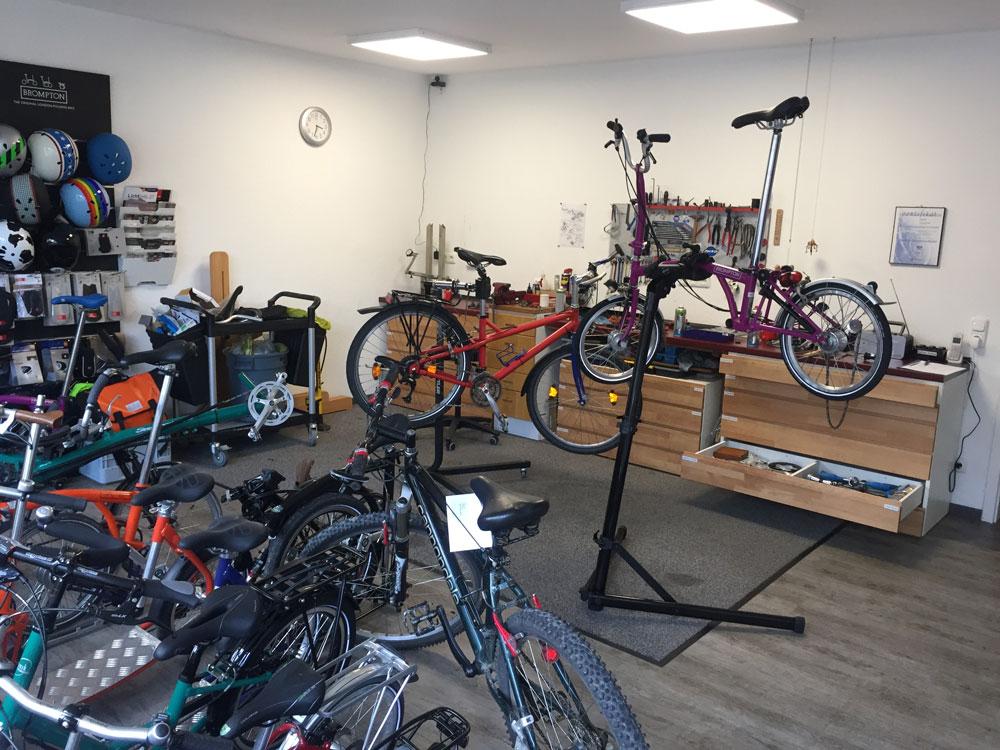 fahrradschmiede Innenansicht